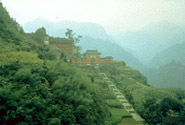 Ancient Building Complex in the Wudang Mountains